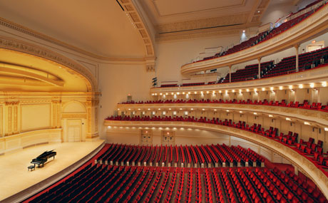 Beauty shots of Stern Auditorium/Perelman Stage